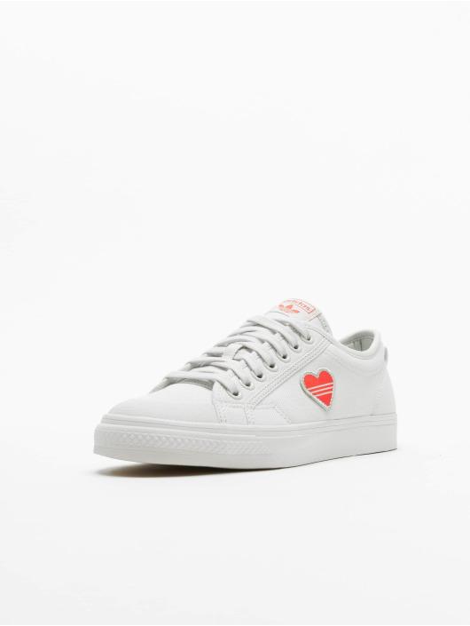 adidas Originals Sneakers Nizza Trefoil bialy
