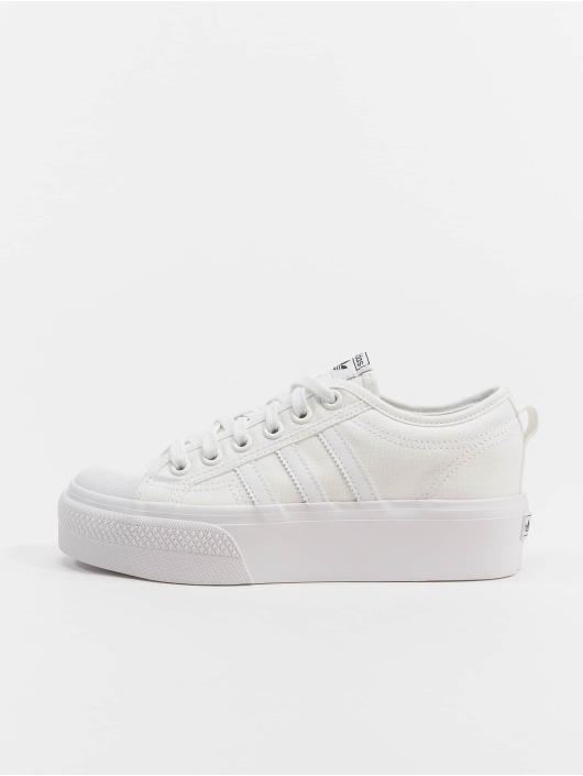 adidas Originals Sneakers Nizza Platform bialy