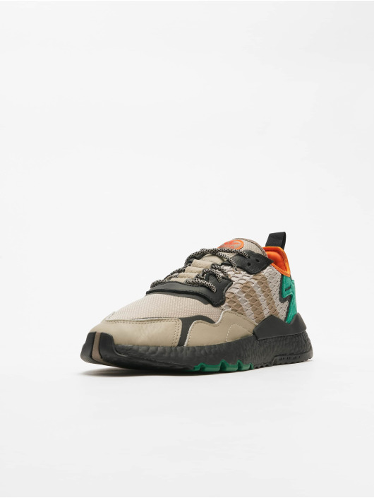 adidas Originals Sneakers Nite Jogger brazowy