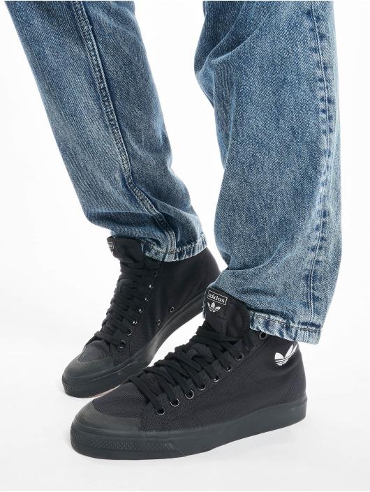 adidas Originals Sneakers Nizza Hi svart
