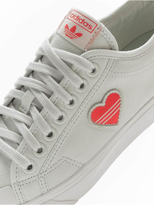 adidas Originals Sneakers Nizza Trefoil vit
