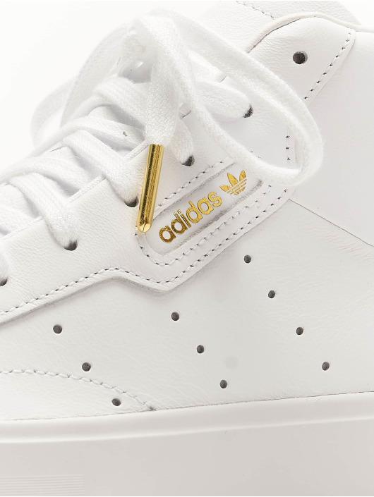 adidas Originals Snejkry Sleek Mid bílý