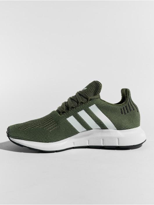 adidas originals Snejkry Swift Run W zelený