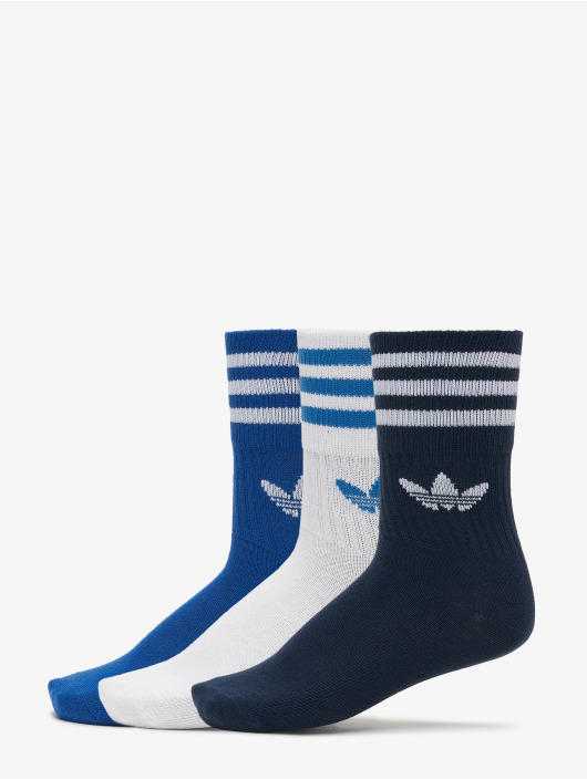 adidas Originals Socken Originals Mid Cut Solid 3 Pack blau