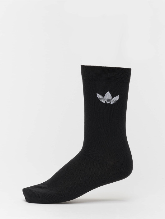adidas originals Socken Thin Tref Crew schwarz