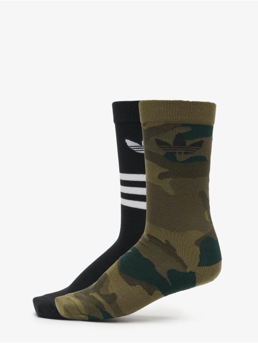 adidas Originals Socken 2 Pack Camo schwarz