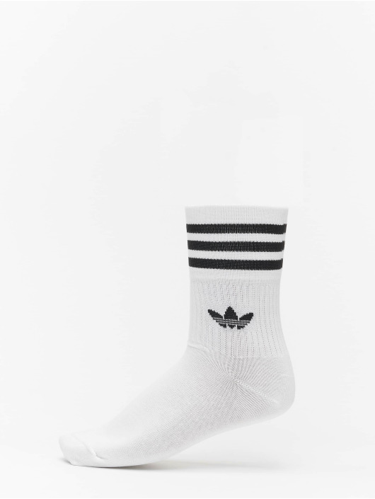 adidas Originals Socken Originals Mid Cut Solid 3 Pack weiß