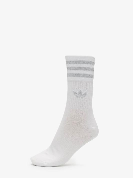 adidas Originals Socken Mid Cut Glitter weiß