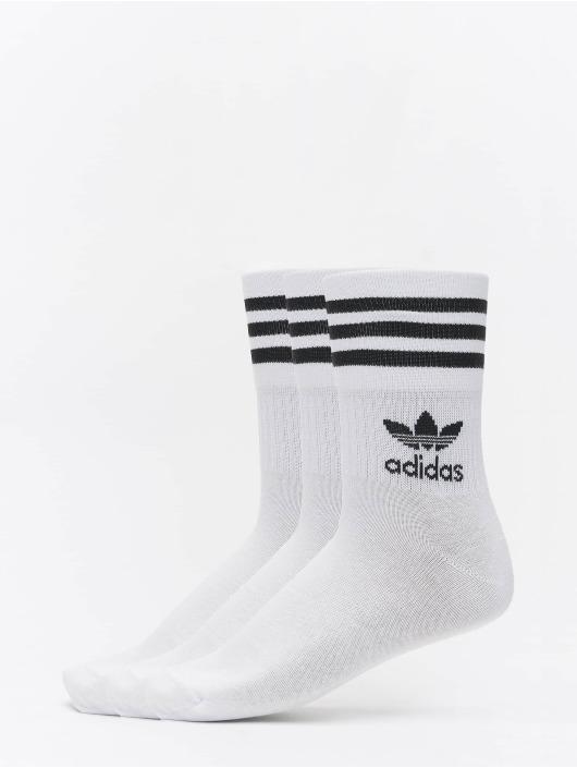 adidas Originals Socken Mid Cut Crew weiß