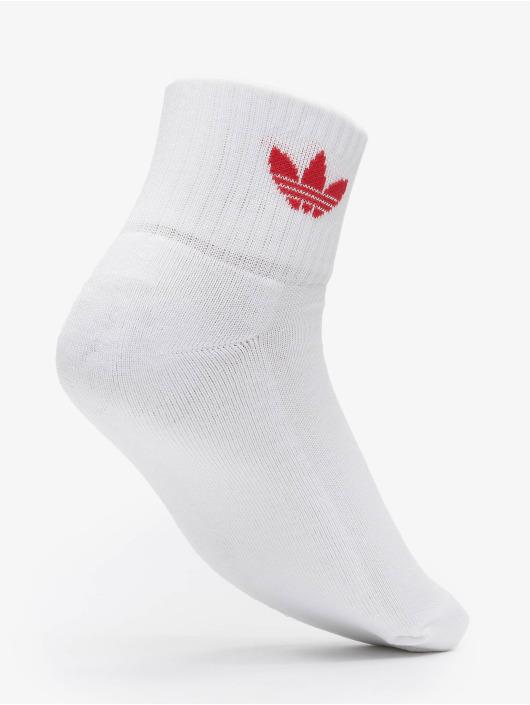 adidas Originals Socken Mid 3-Pack weiß