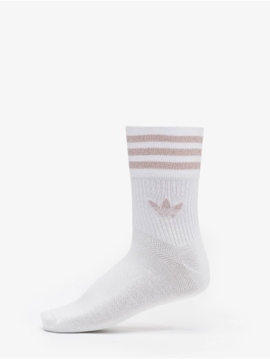 adidas Originals Socken Cut Glitter weiß