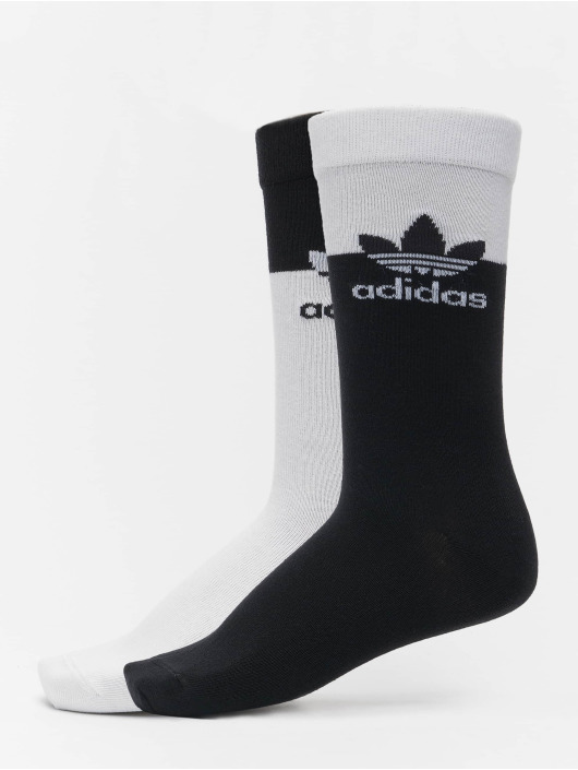 adidas Originals Socken 2 Pack Blocked Thin weiß