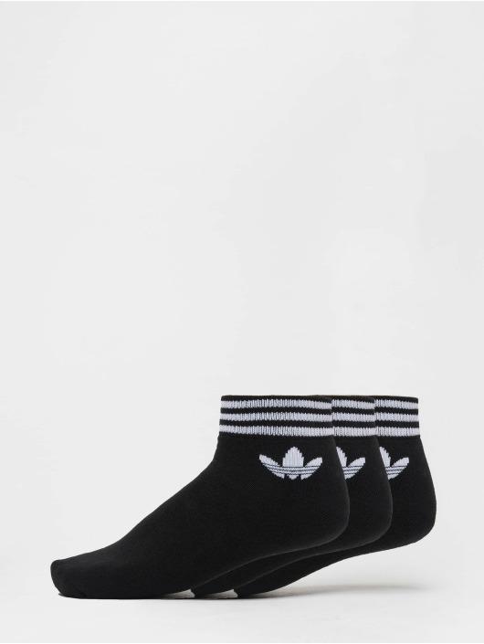 adidas originals Socks Trefoil Ank Str black