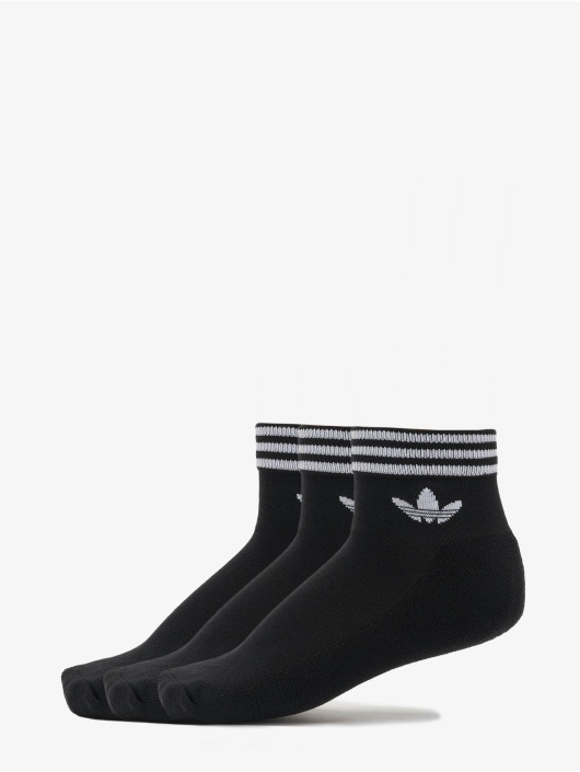 adidas Originals Socks Trefoil Ankle 3 Pack black