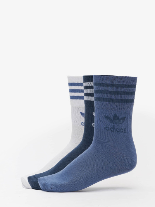 adidas Originals Socks 3 Pack Mix blue