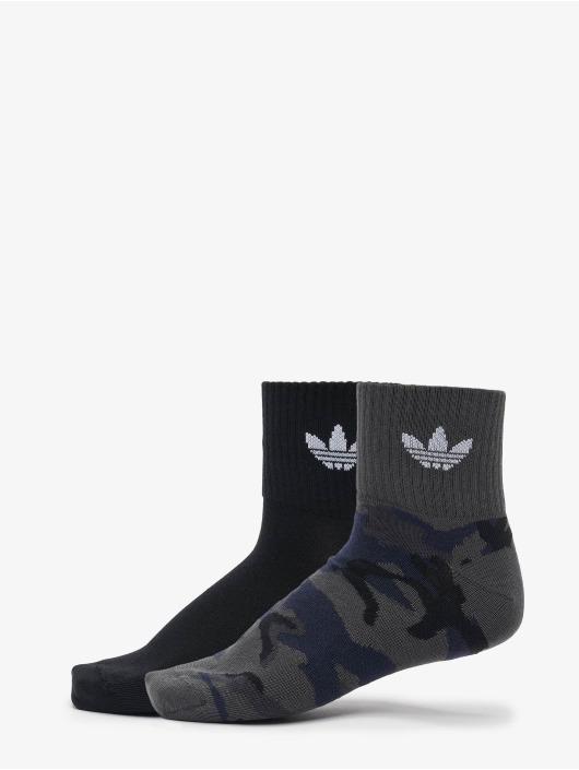 adidas Originals Socks Camo Mid Ankle 2-Pack grey