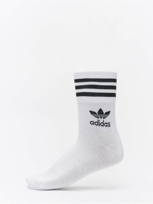 adidas Originals Socks Mid Cut Crew white