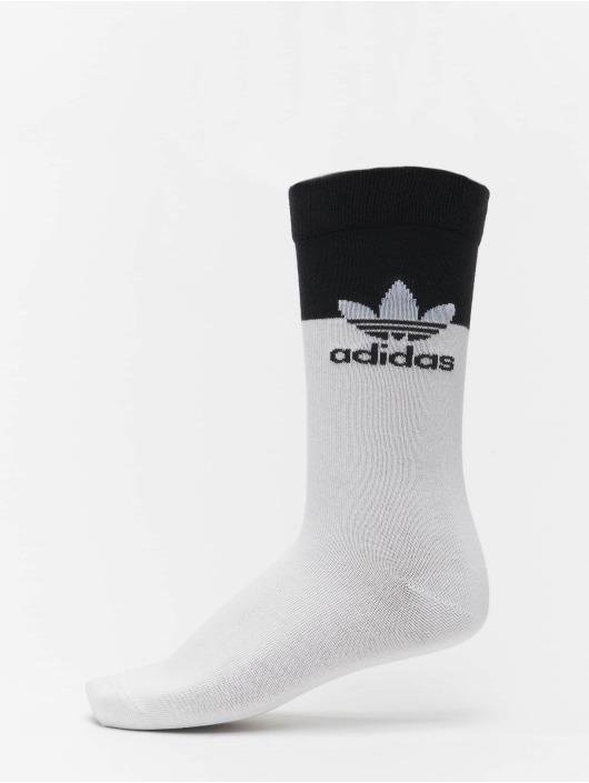 adidas Originals Socks 2 Pack Blocked Thin white
