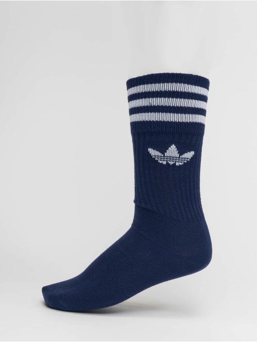 adidas originals Sokken Solid Crew 2pp blauw