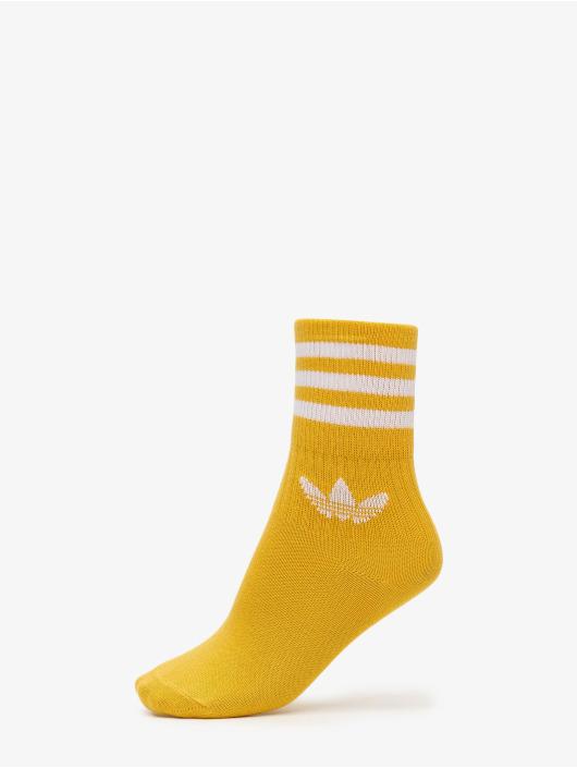 adidas Originals Sokken Mid Cut Solid 3 Pack goud