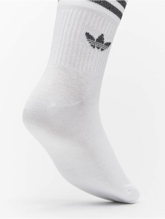 adidas Originals Sokken Cut Glitter wit