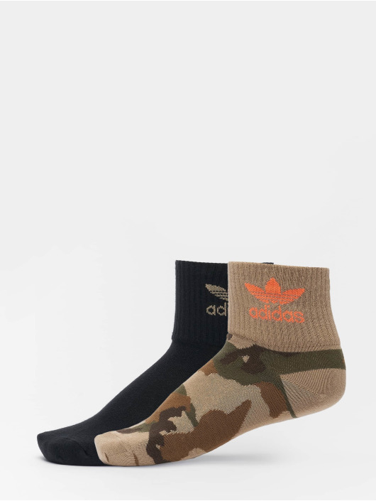 adidas Originals Sokker Originals Camo Mid Ankle svart