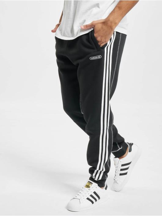 adidas Originals Spodnie do joggingu Contrast Stitch czarny