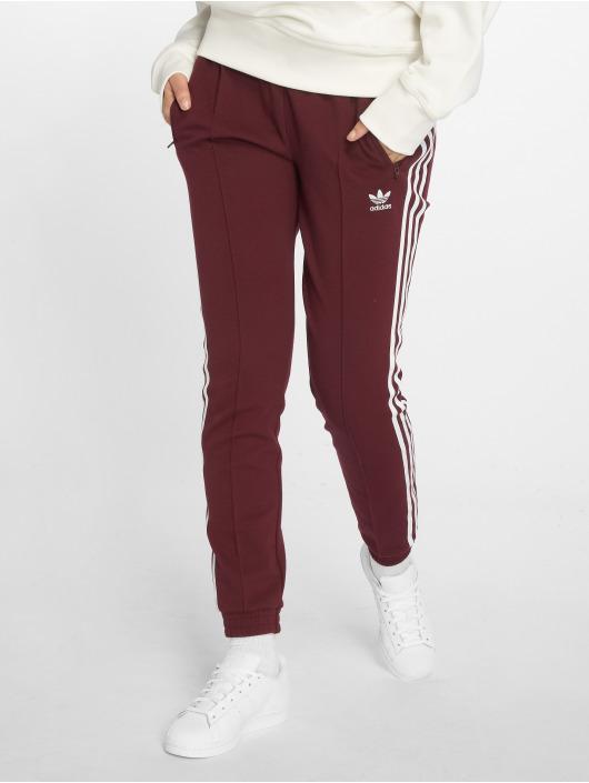 adidas originals Spodnie do joggingu Clrdo Sst Tp czerwony