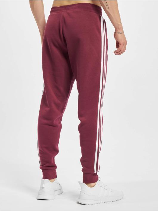 adidas Originals Spodnie do joggingu 3-Stripes czerwony