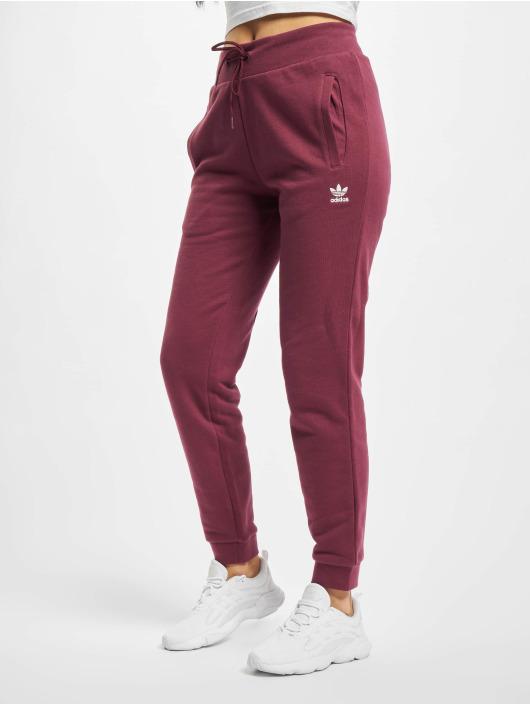 adidas Originals Spodnie do joggingu Track czerwony