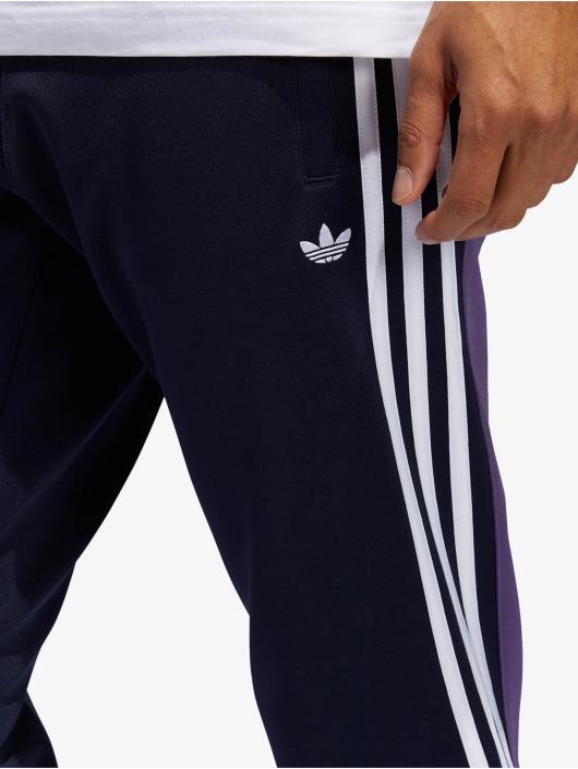 adidas Originals Spodnie do joggingu 3stripe niebieski