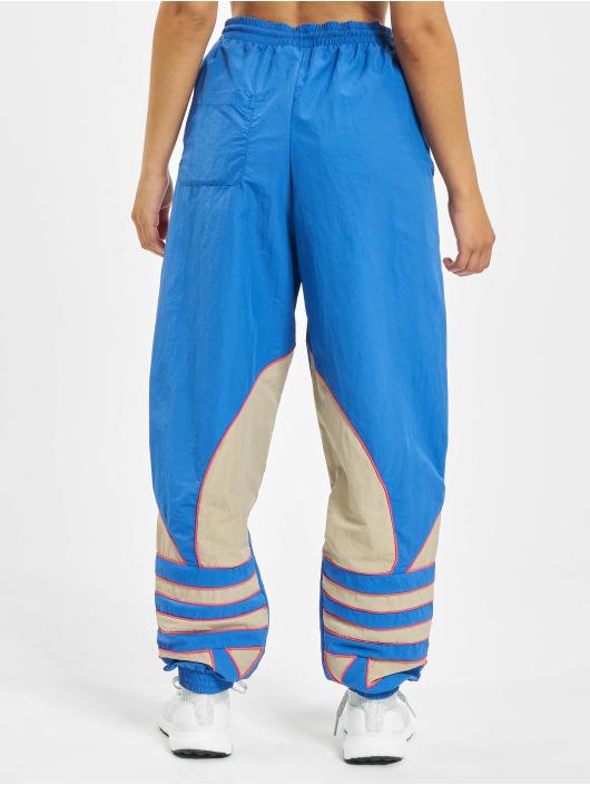 adidas Originals Spodnie do joggingu Big Trefoil Track niebieski