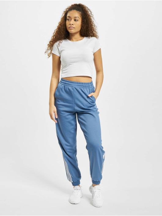 adidas Originals Spodnie do joggingu Track niebieski