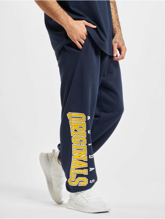 adidas Originals Spodnie do joggingu Script niebieski