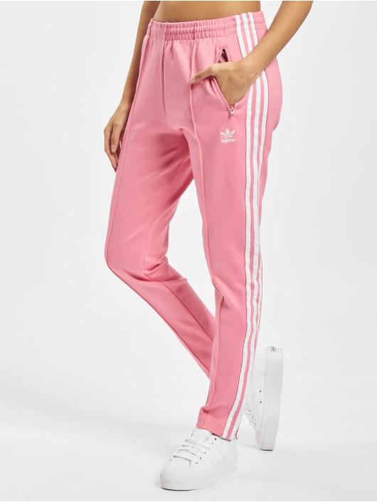 adidas Originals Spodnie do joggingu SST PB rózowy
