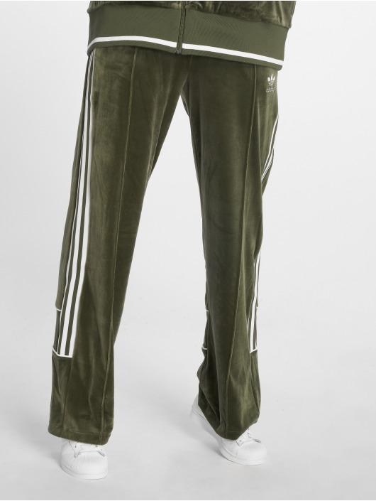 adidas originals Spodnie do joggingu Track zielony