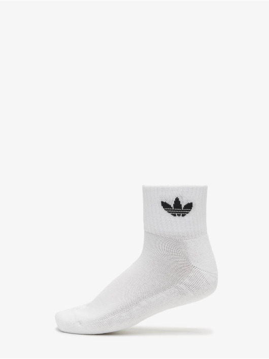adidas Originals Strumpor Mid Ankle vit