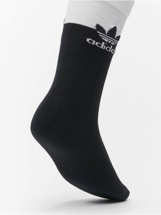adidas Originals Strumpor 2 Pack Blocked Thin vit