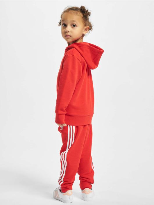 adidas Originals Suits Hoodie red