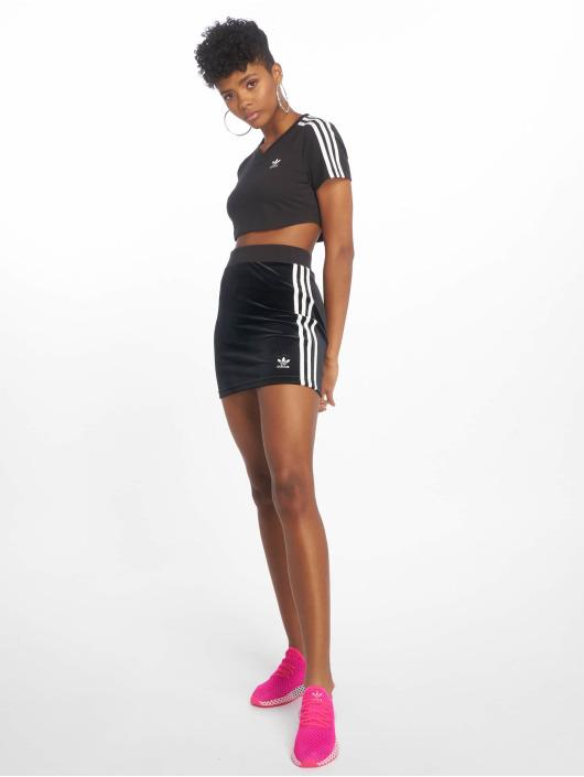 adidas Originals Sukňe 3 Stripes èierna