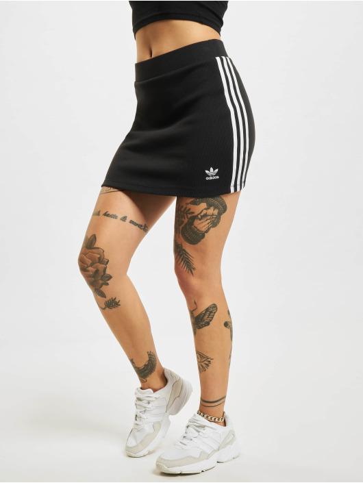 adidas Originals Sukňe 3stripes èierna