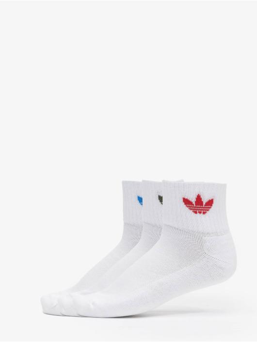 adidas Originals Sukat Mid 3-Pack valkoinen