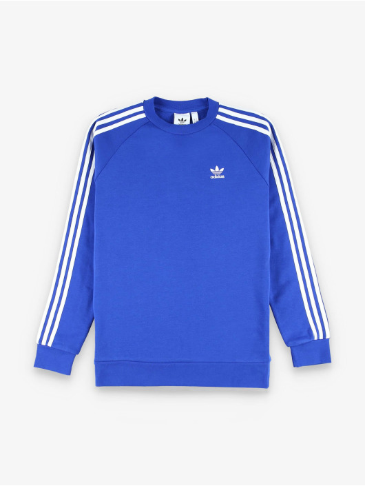 adidas Originals Svetry 3-Stripes modrý