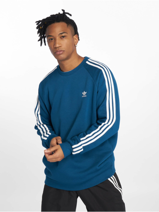Stripes Adidas Sweat Homme Bleu Originals 3 amp; 543743 Pull p4qg4EU