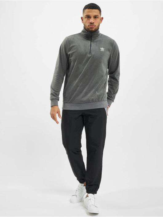 adidas Originals Sweat & Pull Essential Half Zip gris