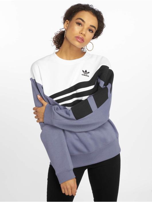 adidas originals Sweat & Pull diagonal indigo