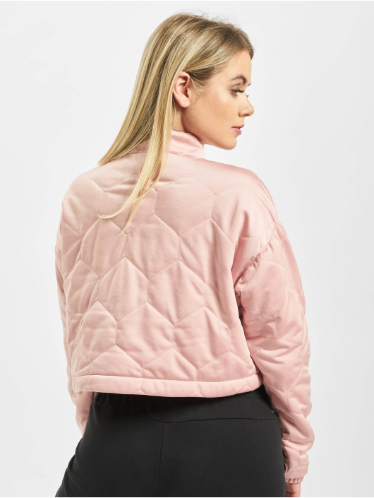 detailed images sports shoes good service Adidas Originals Cropped Sweater Pink Spirit