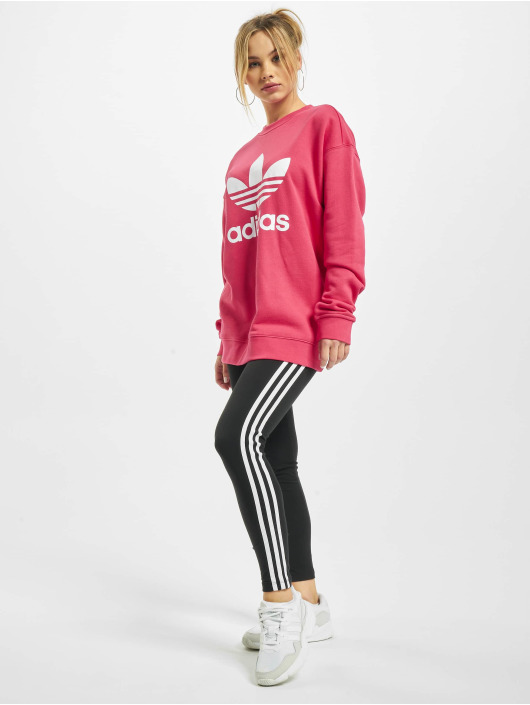 adidas Originals Sweat & Pull Trefoil magenta