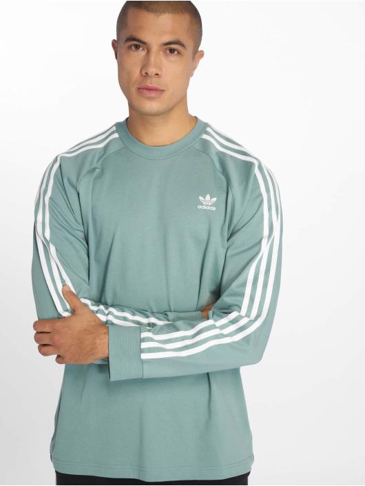e9827f8f2265 ... adidas originals Sweat   Pull 3-Stripes turquoise ...