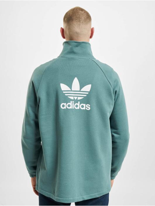 adidas Originals Sweat & Pull Trefoil Half vert